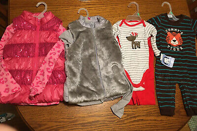 Lot of Baby girls clothes newborn to 9 months