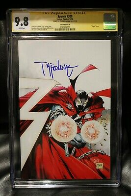 SPAWN #300 CGC 9.8 SS SIGNED TODD McFARLANE VIRGIN INCENTIVE 1:25 VARIANT