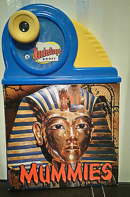 Rare and collectible WONDERSCOPE books MUMMIES educational book *
