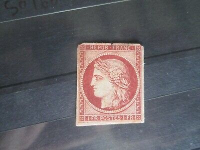 Timbres France  Yt 6