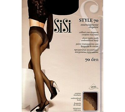L Noir SISI BE FREE 40 Taille 4 Collant fin taille basse 40den