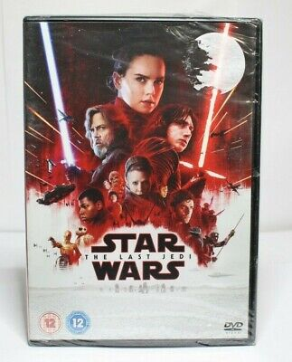 Star Wars - The Last Jedi DVD Brand New & Sealed