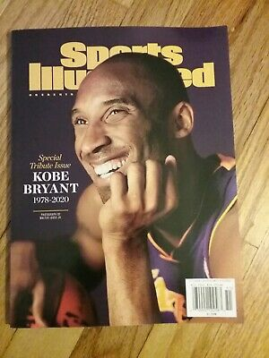 sports illustrated special tribute issue kobe Bryant 1978-2020