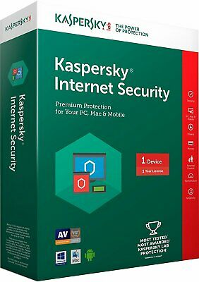 Kaspersky Internet Security 2020 1 Year 1 Device (World Wide) Limited Offer Fast
