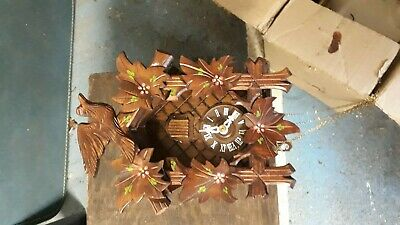 Old Wooden Cuckoo Clock