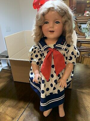 "26"" Composition ""SHIRLEY TEMPLE""  Doll"