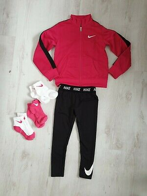 Nike Pro Girls Leggins, Hoody, Socks, Tracksuit 5-6 Years Exellent Condition