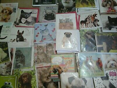 40 T A Cards, Wholesale Joblot Greeting Cards