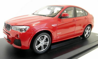 BMW X4 F26 1:18 scale Model Miniature Car Collectable Melbourne Red OEM