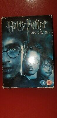 Harry potter  the complete 8 film dvd box set