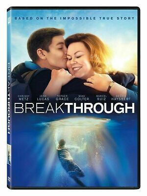 Breakthrough (DVD, 2019) Brand New & Sealed - Fast Ship NOW SHIPPING!