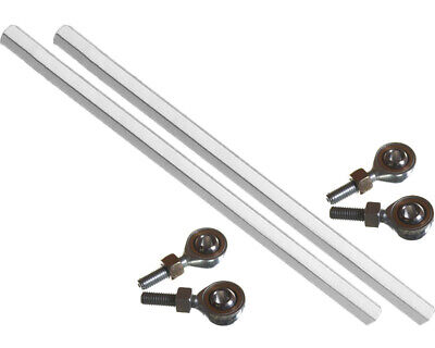 Go Kart Track / Tie Rod for Mad Croc Silver & Ends x 2 Karting Racing Race