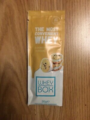 4 x Whey Box - The Most Convenient Whey - COOKIES & CREAM FLAVOUR - 20 g