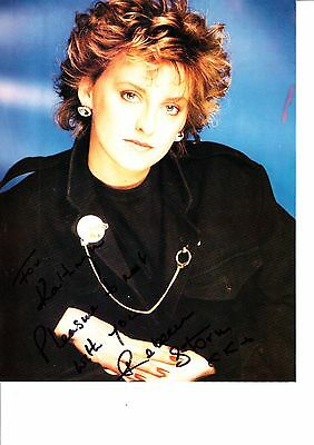 Rebecca Storm Hand Signed Colour Photograph 10 X 8 Inch