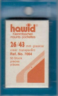 Hawid Stamp Mounts: 26x43 - Clear