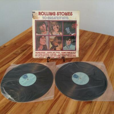 THE ROLLING STONES [30 GREATEST HITS] 1977 SPANISH PRESS 2xLP SHRINK Abkco