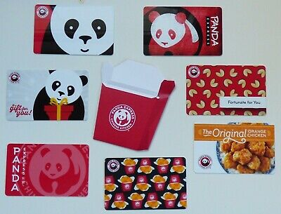 PANADA EXPRESS Collectible Gift Card - LOT of 7 Diff Cards plus Holder- No Value