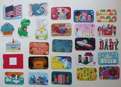 TARGET Gift Card / Collectible- LOT of 25 Diff - No Value - Old Special & Recent