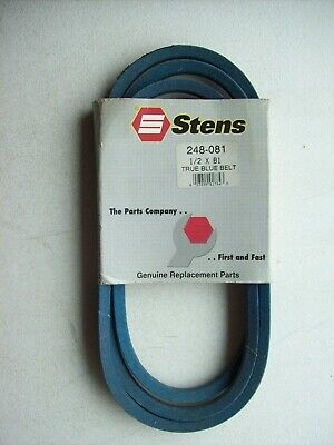 "1//2/"" X 110/"" UNIVERSAL REPLACEMENT BELT STENS TRUEBLUE 248-110 LAWN MOWER BELTS"