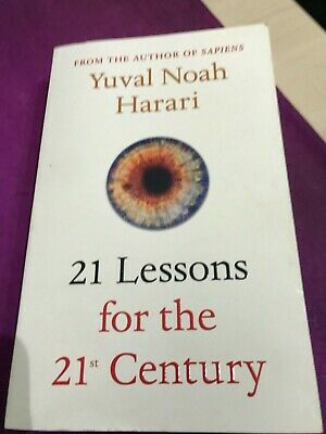 21 Lessons for the 21st Century by Yuval Noah Harari paperback edition