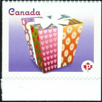 Canada sc#2435i Celebration 2011: Stylized Gift Package, Peak at UL, Mint-NH