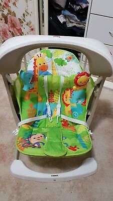 Fisher-Price Rain forest Take Along Swing & Seat - Excellent Condition