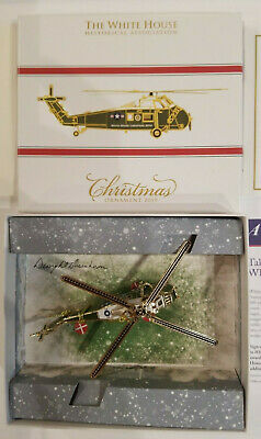 White House Historical Association Christmas Ornament 2019 - New in Box