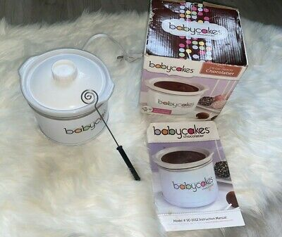 Babycakes Chocolatier Fondue Dipping Tool and Spiral Spoon