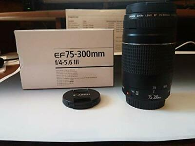 Canon EF 75-300mm f/4-5.6 III Telephoto Zoom Lens for Canon EOS 7D, 60D, EOS 70D