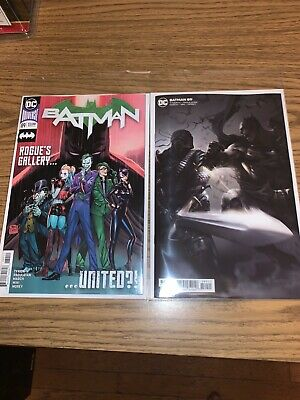 Batman #89 2020 Covers A And B First Cameo Appearance Of Punchline NM Condition
