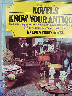 Books Antique Guide Kovel's Know Your Antiques - Ralph And Terry Kovel