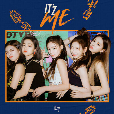 ITZY - IT'Z ME CD+2Photocards+Pre-Order Benefit+Poster+Free Gift+Tracking no.
