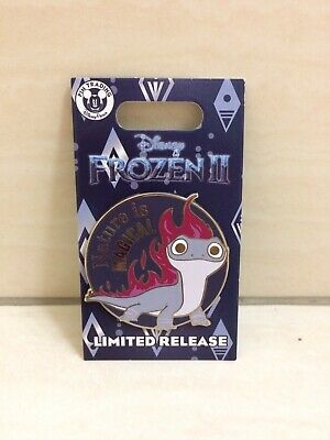 Disney Parks Bruni Salamander From FROZEN 2 Pin. Fire Theme. Limited Release