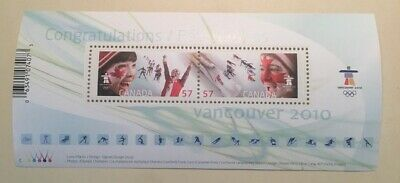 Canada Stamps # 2373Celebrating the Olympic Spirit Souvenir Sheet MNH CV $ 3.00