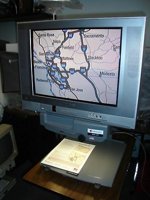"ATLAS 600- 20"" CRT- Color - Electronic Visual Aid - Low Vision Magnifier"