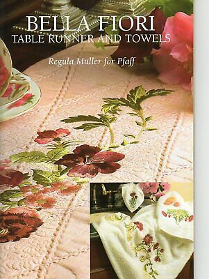 Machine Embroidery Patterns - Creative Expressions Jenny Haskins Quilts Clothing