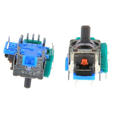 2x 3D Thumb Joystick Replacement For PS4 Playstation Controller Analog Repair