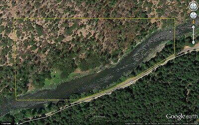 Northern California  - 16 Acres Placer Gold Mining Claim on the Klamath River