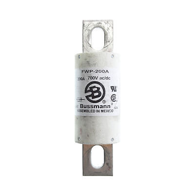 Bussman Fwp-200A Fast Acting High Speed Fuse, 200-Amp, 700-Volt Ac/Dc