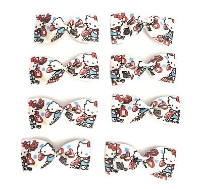 "1/"" Ribbon grosgrain ribbon 5y hello kitty with Dodger"