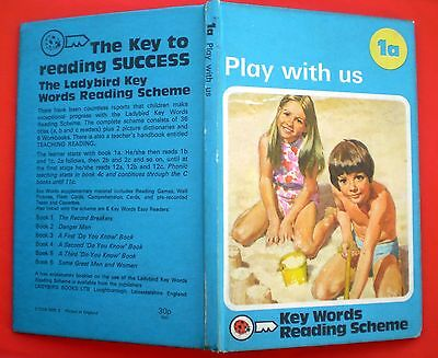 Play With Us vintage Ladybird book 1a Key Words Reading Scheme learning read