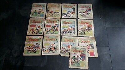 "Job Lot. 13 Scorcher Comics. 1970. ""Their Finest Hour "" Most Good cond for year."