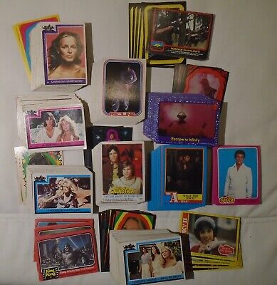 Lot of 453 DIFFERENT 70's Non-Sports Cards. VG to Mint
