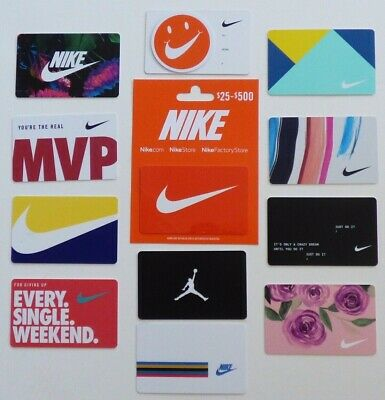 NIKE Collectible Gift Cards - LOT of 12 Different - Michael Jordan - No Value