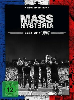Mass Hysteria - Best Of / Live At Hellfest(Limited Edition) - 3CD+DVD DinA5 Pack