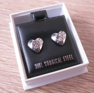 Childrens Girls Sterling Silver Round 3mm Red Crystal Stud Earrings Boxed