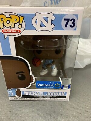 Funko Pop! MICHAEL JORDAN #73 UNC North Carolina Walmart Exclusive Basketball