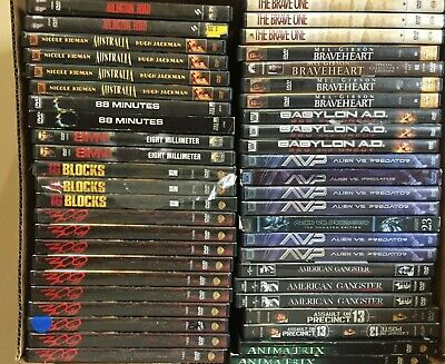 203 ACTION Movies-Dvd Lot PICK and CHOOSE Ultimate Selection-Save on Shipping-.