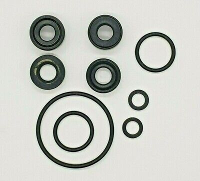 Lower Unit Gearcase Seal Kit ~ 4HP 5HP 2-Stroke Yamaha Mariner 4A 4B 5C Outboard