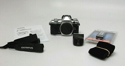 Olympus OM-D E-M5 Mark II Digital Camera - Silver (Body Only) Used Excellent